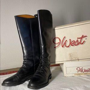 Vintage✨90s 9West Lolita Boots